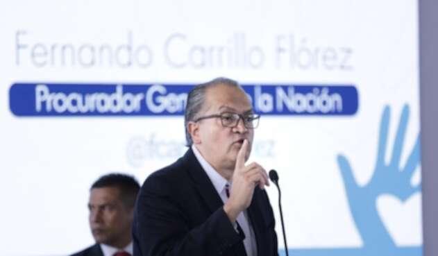 Fernando Carrillo, procurador general de la Nación