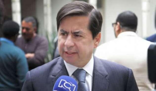 Juan Fernando Cristo, ex-ministro del Interior