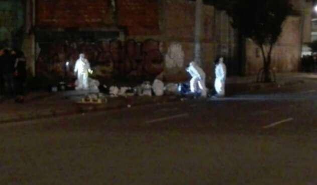 Cuerpos desmembrados en Bogotá