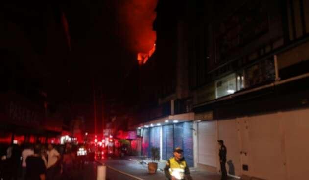 El hecho, ocurrido en la Carrera 9 #13-91, barrio Sucre y fue atendido por el cuerpo de Bomberos Voluntarios de Cali