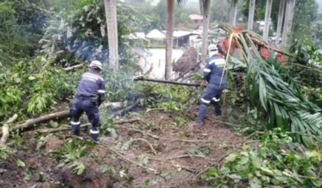 Deslizamiento en La Palma, Cundinamarca