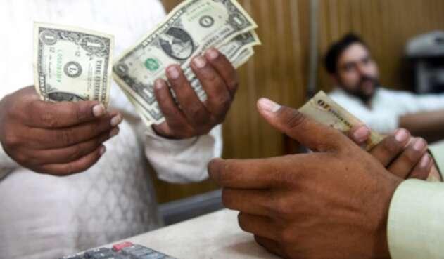 Foto de referencia sobre la venta del dólar