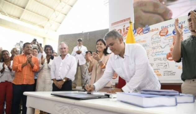 Iván Duque sancionó Plan Nacional de Desarrollo