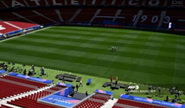 Estadio Wanda Metropolitano, en Madrid