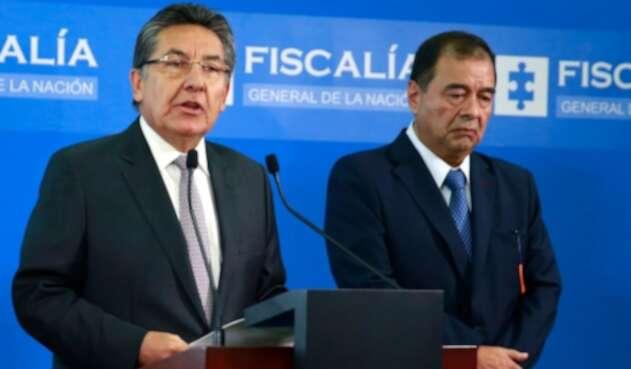 Néstor Humberto Martínez y Fabio Espitia Garzón