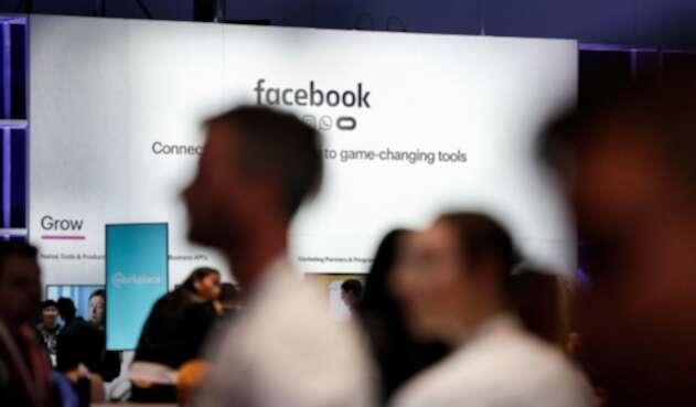 Personas que asisten a la Facebook F8 Conference at McEnery Convention Center en San Jose, California (Estados Unidos), el 30 de abril de 2019