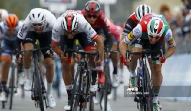 Fernando Gaviria en el Giro de Italia 2019