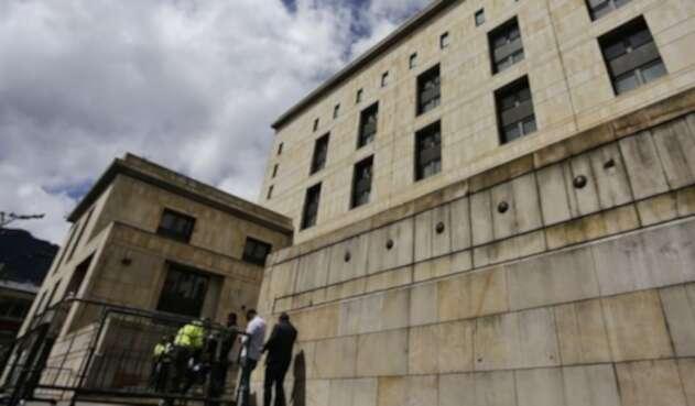 Foto fachada Palacio de Justicia
