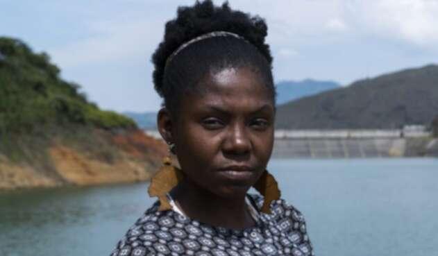 La líder social afro Francia Márquez