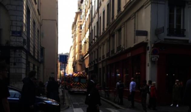Explosión en Francia