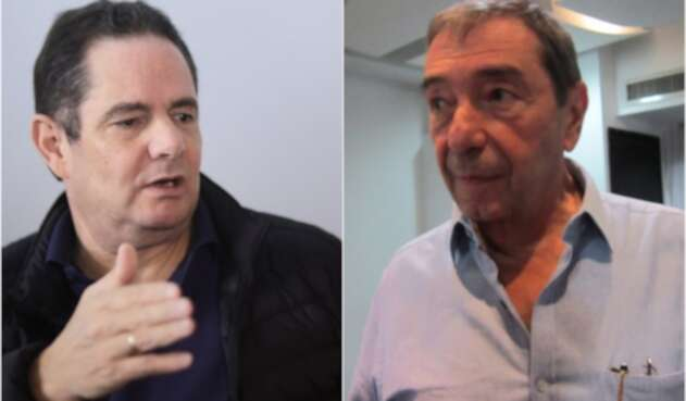 Germán Vargas y Fuad Char