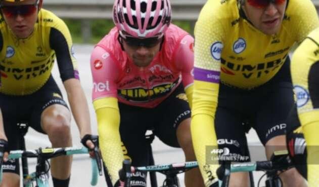 Primoz Roglic, ciclista esloveno del Jumbo Team en el Giro de Italia