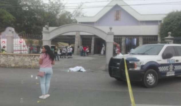 Ataque en iglesia de México