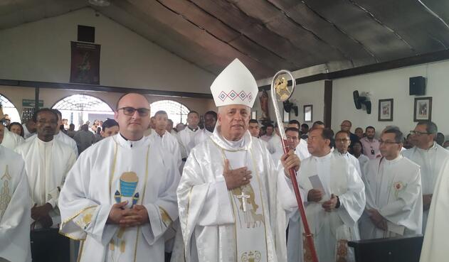 La iglesia católica de Cali por medio de una eucaristía le pidió perdón a las víctimas de abuso sexual por parte del padre William de Jesús mazo, en hecho ocurridos en el año 2009.