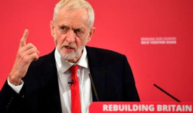 Jeremy Corbyn, exlíder laborista británico