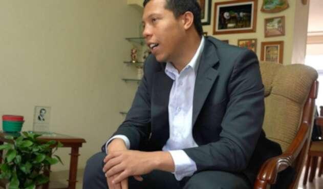 Jorge Colmenares, hermano menor de Luis Andrés Colmenares.