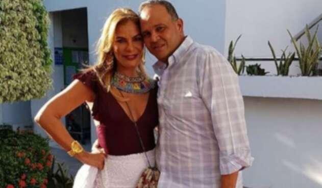 María Monica Urbina y su esposo José Guillermo Hernández