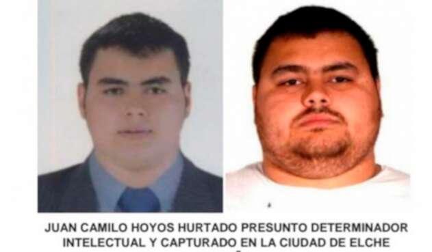 Juan Camilo Hoyos Hurtado, colombiano capturado en Elche (España)
