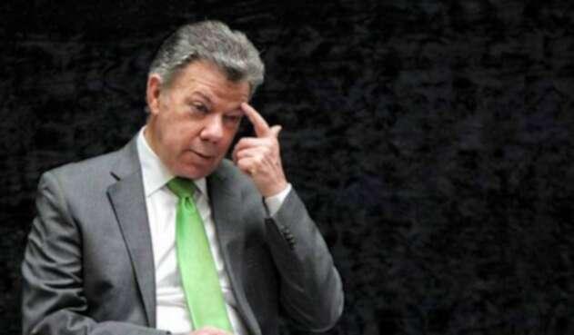 El expresidente Juan Manuel Santos