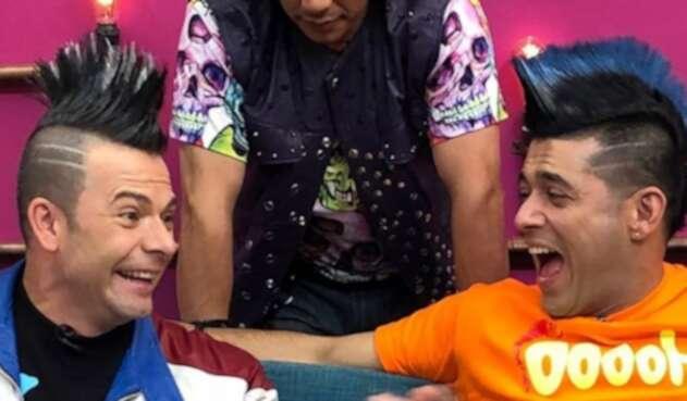 El presentador se unió a la fiebre de la famosa serie del Canal RCN.