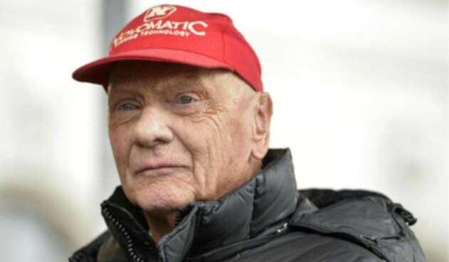Niki Lauda, excampeón de la Fórmula 1