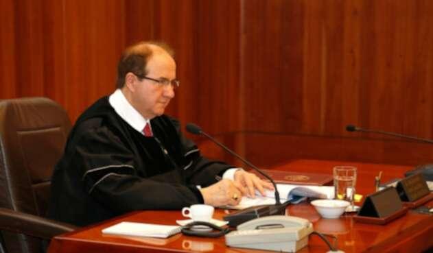 Leonidas Bustos, expresidente de la Corte Suprema de Justicia