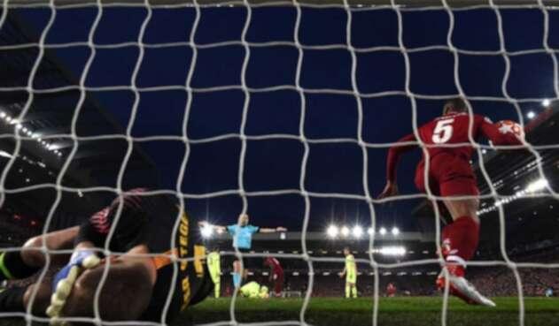 Liverpool derrotó al Barcelona