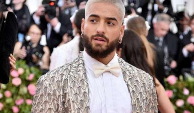 El cantante estuvo presente en la famosa gala de moda que financia el Instituto del traje del museo.