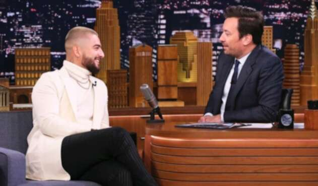 Maluma y Jimmy Fallon