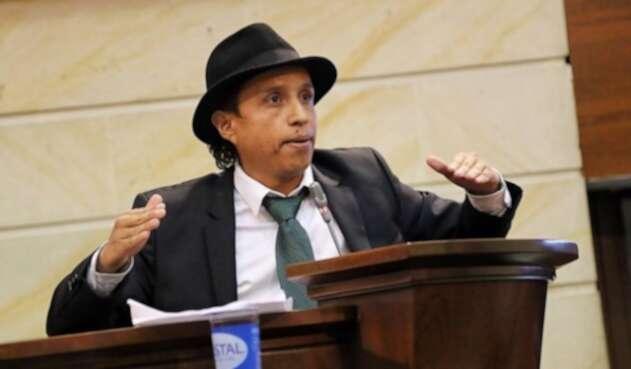 El senador Jonatan Tamayo Pérez, conocido como 'Manguito'.