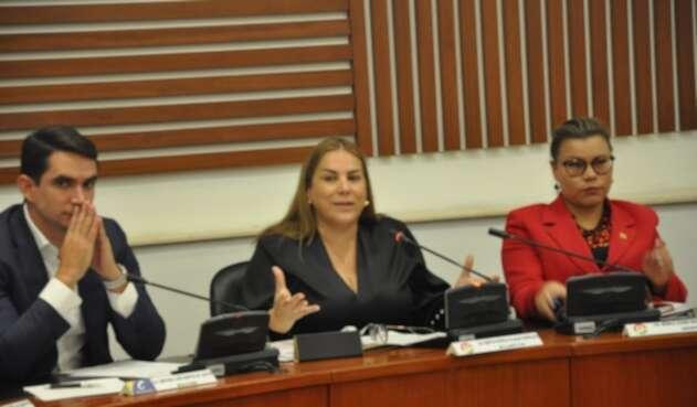 Martha Villalba del Partido de la U