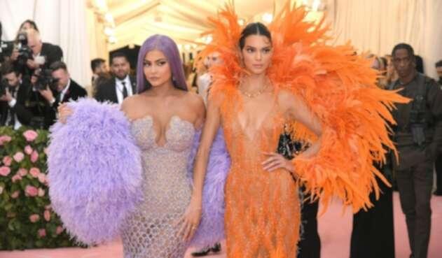 Kendall y Kylie Jenner en la Met Gala 2019