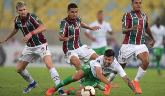 Nacional cayó 4-1 ante Fluminense.