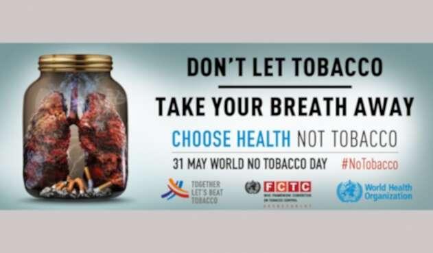 La foto de la OMS para conmemorar el Día Mundial Sin Tabaco