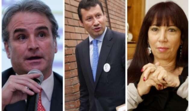 Pablo Felipe Robledo, Jaime Lombana y María Jimena Duzán