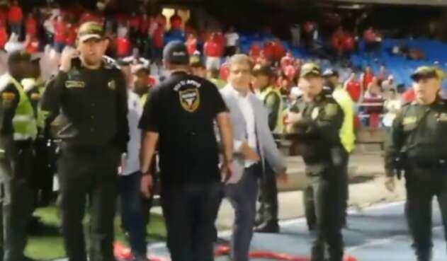 Pinto agredido en el Pascual Guerrero