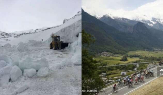 Se cancela el Passo Gavia en el Giro de Italia