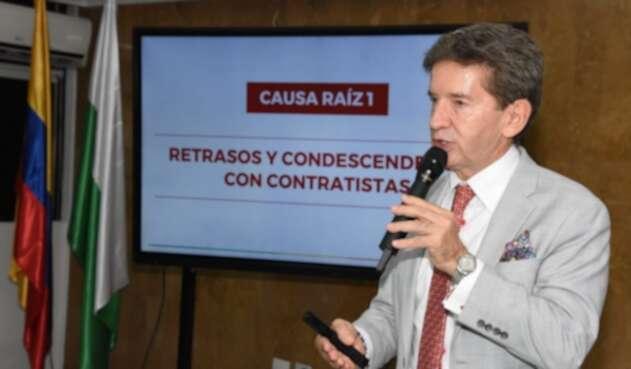 Gobernador Luis Pérez presentó segundo libro sobre Hidroituango.