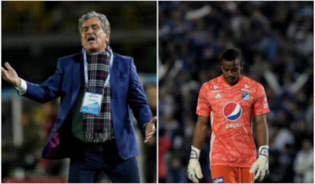 Jorge Luis Pinto y Wuilker Faríñez - Millonarios