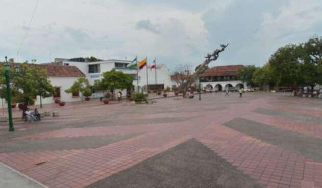 La Plaza Alfonso López, en la ciudad de Valledupar