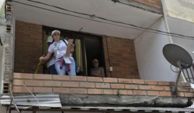 Diagnóstico de viviendas averiadas en Puerto Valdivia.