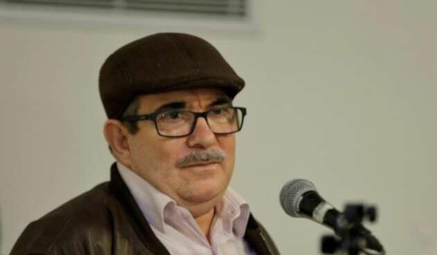 Rodrigo Londoño, presidente del partido Farc