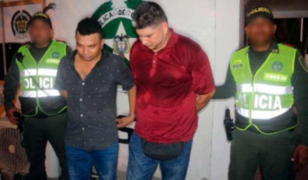 """Los """"rompevidrios"""" capturados en Cartagena de Indias"""