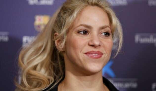 La cantante envió unas palabras de apoyo al equipo donde juega su pareja Gerard Piqué.