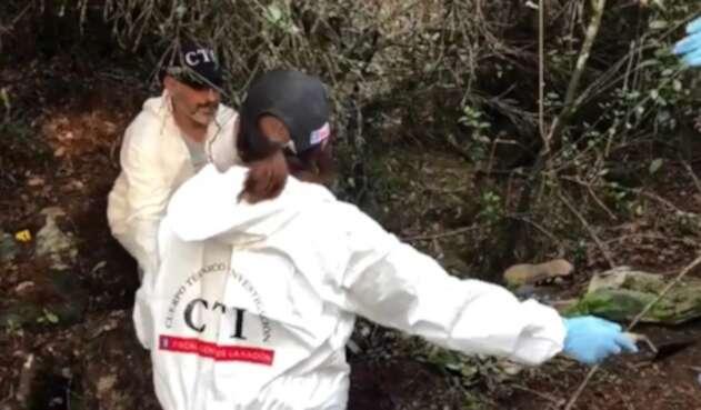 Encuentran restos humanos de jóvenes desaparecidos en Usaquén