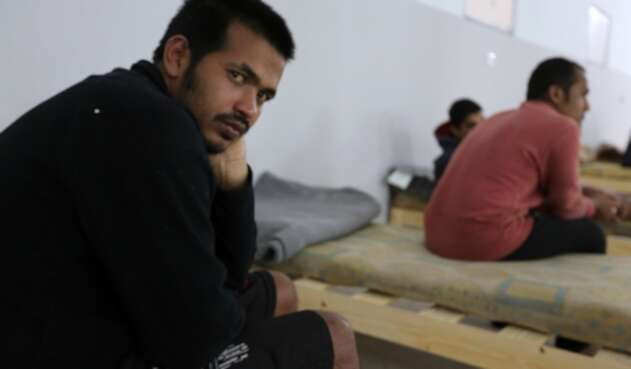 Sobreviviente de naufragio en Túnez