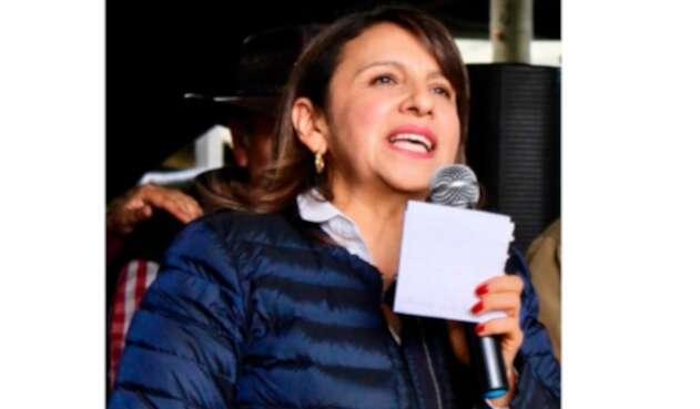 Soledad Tamayo se quedó con la curul de Aida Merlano en el Senado.