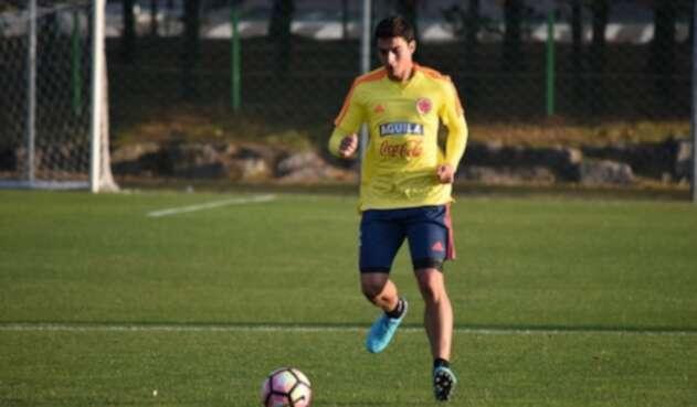Stefan Medina, defensor de la Selección Colombia