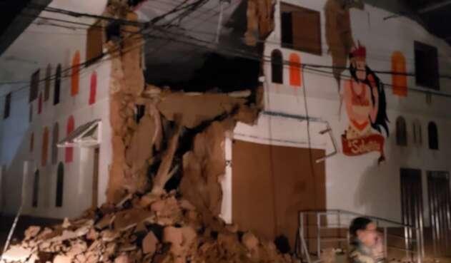 Yurimaguas (Perú) luego del sismo