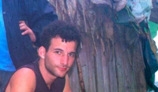 Terence Freitas, ciudadano estadounidense secuestrado y asesinado por las Farc-EP, el 25 de febrero de 1999